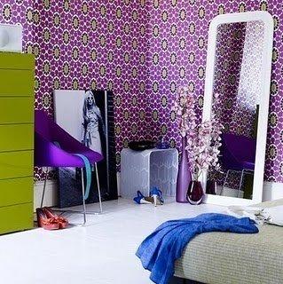 Фотография: Спальня в стиле Эклектика, Интерьер комнат, Кровать, Гардероб, Комод, Пуф, Табурет – фото на InMyRoom.ru
