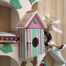 Фото из портфолио Дерево-стеллаж для детской комнаты – фотографии дизайна интерьеров на INMYROOM
