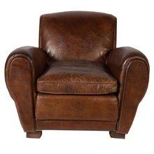 Кожаное кресло Бонгард