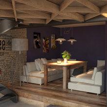 Фото из портфолио Кафе-пекарня, 1200м2 – фотографии дизайна интерьеров на INMYROOM