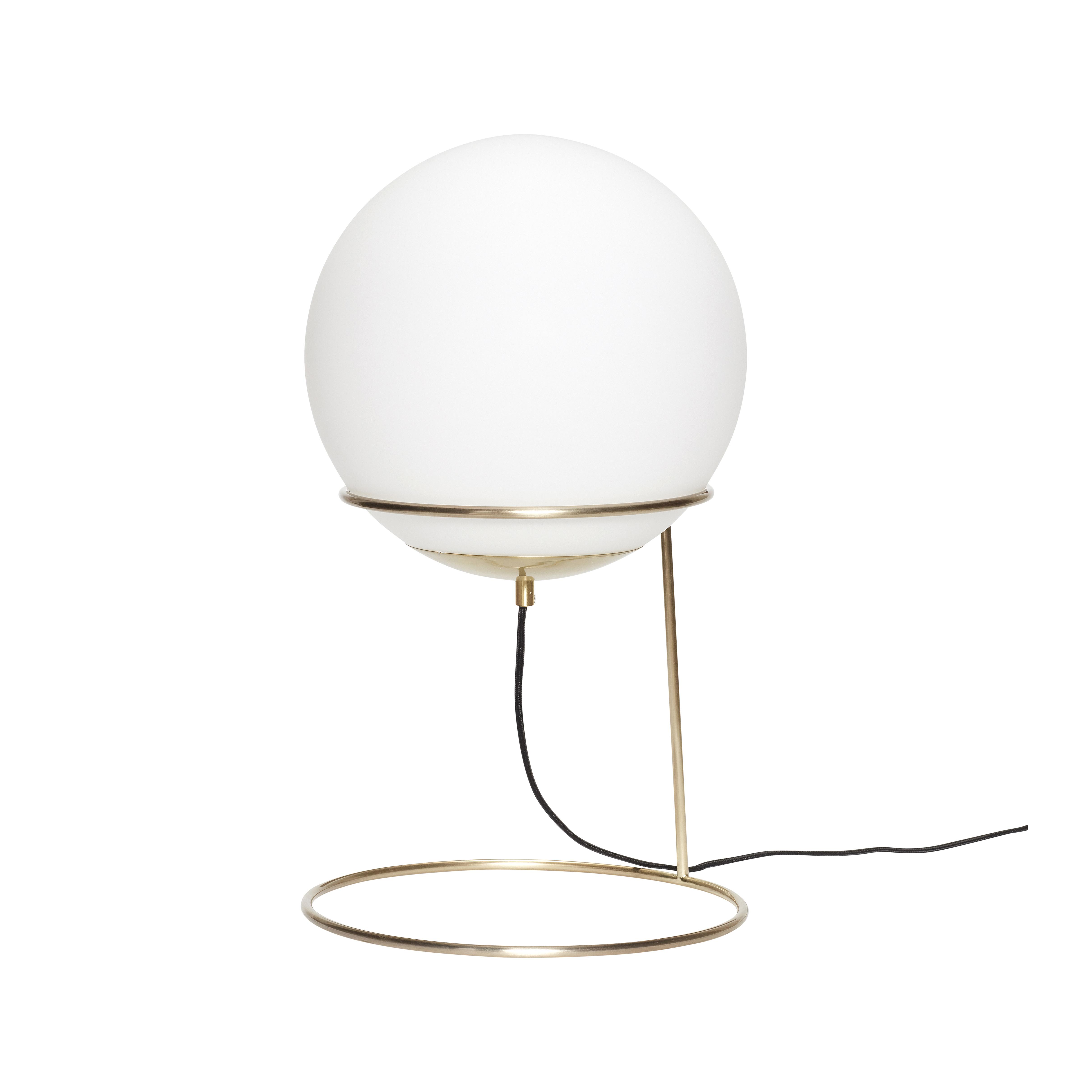 Напольная ваза с белым плафоном