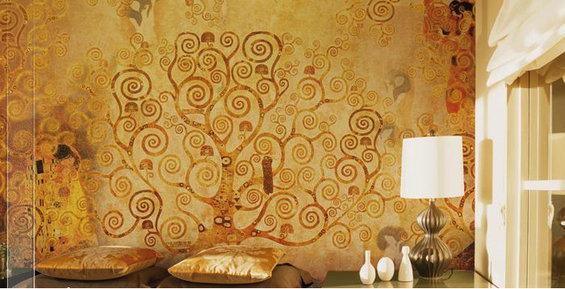 Фотография: Спальня в стиле Эклектика, Декор интерьера, Декор дома, Стены – фото на InMyRoom.ru