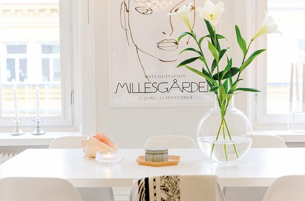Фотография: Декор в стиле Современный, Скандинавский, Малогабаритная квартира, Квартира, Цвет в интерьере, Дома и квартиры, Белый – фото на InMyRoom.ru