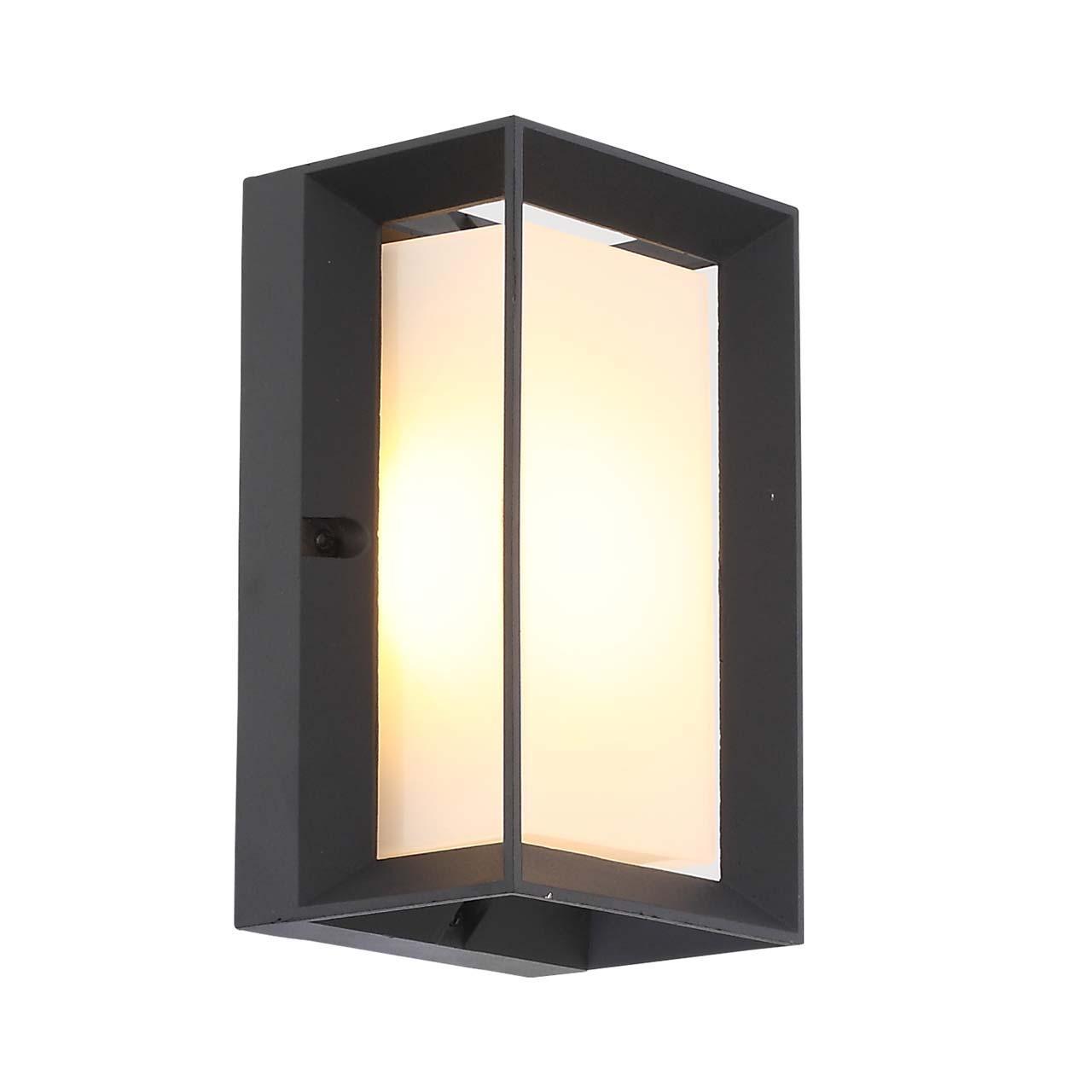 Уличный настенный светодиодный светильник Cubista с плафоном из акрила