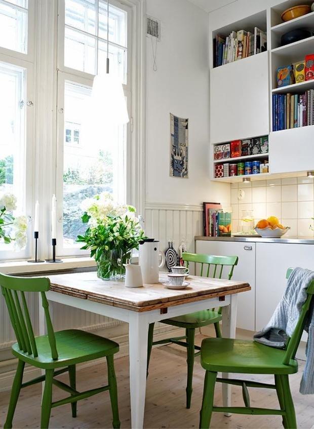Фотография: Кухня и столовая в стиле Скандинавский, Декор интерьера, DIY, Стиль жизни, Советы – фото на InMyRoom.ru