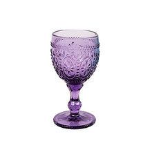 Бокал Узоры фиолетовый