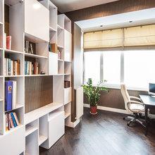 Фотография: Офис в стиле Скандинавский, Квартира, Дома и квартиры, Галерея Арбен – фото на InMyRoom.ru