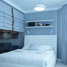 Фото из портфолио Строгий минимализм – фотографии дизайна интерьеров на InMyRoom.ru