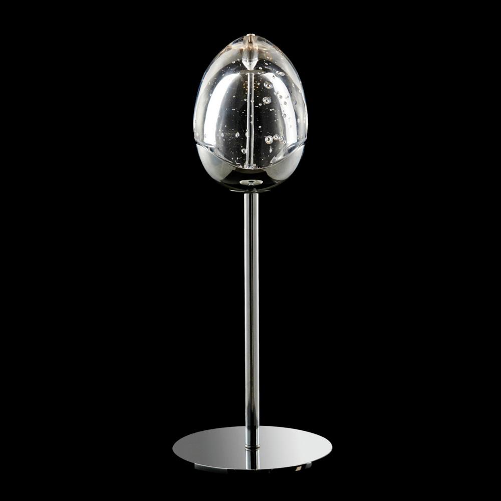 Купить Настольная лампа Terrene Illuminati с плафоном из прозрачного выдувного стекла, inmyroom, Италия
