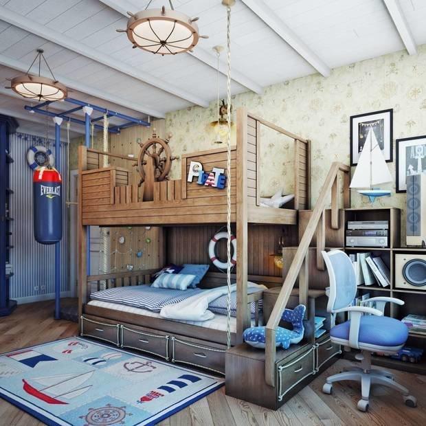 Фотография:  в стиле , Детская, Интерьер комнат – фото на InMyRoom.ru