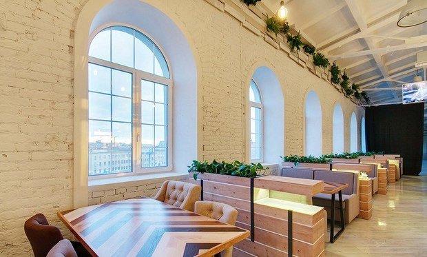 Фото из портфолио Дизайн ресторана ТКАЧИ Санкт-Петербург – фотографии дизайна интерьеров на INMYROOM