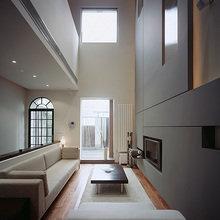 Фотография: Гостиная в стиле Современный, Квартира, Дома и квартиры, Международная Школа Дизайна – фото на InMyRoom.ru