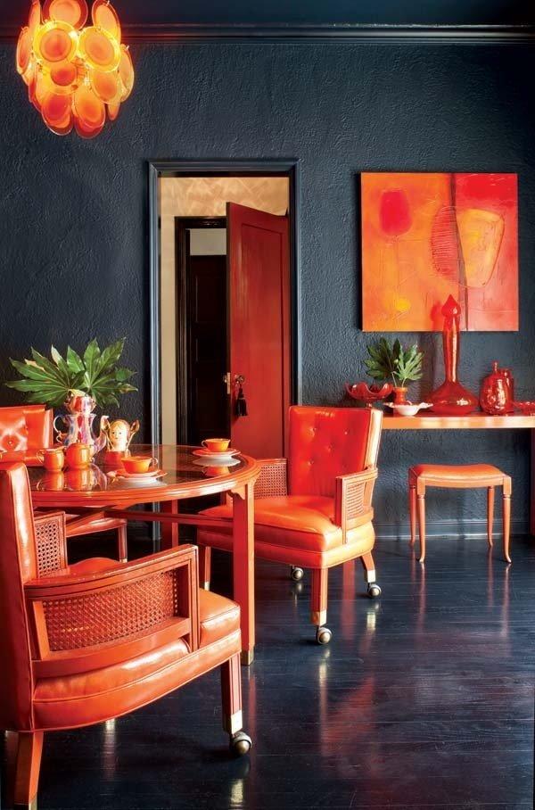 Фотография: Кухня и столовая в стиле Современный, Эклектика, Декор интерьера, Декор дома, Цвет в интерьере – фото на InMyRoom.ru