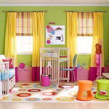 Фотография: Детская в стиле Современный, Декор интерьера, Дизайн интерьера, Цвет в интерьере – фото на InMyRoom.ru
