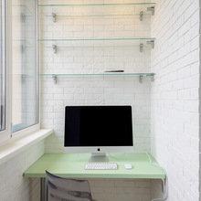 Фотография: Балкон, Терраса в стиле Современный, Малогабаритная квартира, Квартира, Дома и квартиры, Минимализм, Переделка – фото на InMyRoom.ru