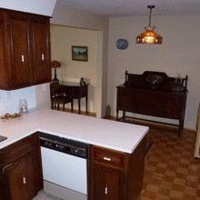 Фотография: Кухня и столовая в стиле Кантри, Минимализм, Переделка, ИКЕА, кухня в стиле минимализм, как оформить кухню в стиле минимализм, минималистичная кухня, кухонный гарнитур от ИКЕА, переделка кухни – фото на InMyRoom.ru
