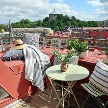 Фото из портфолио Квартира с собственной террасой на крыше – фотографии дизайна интерьеров на INMYROOM