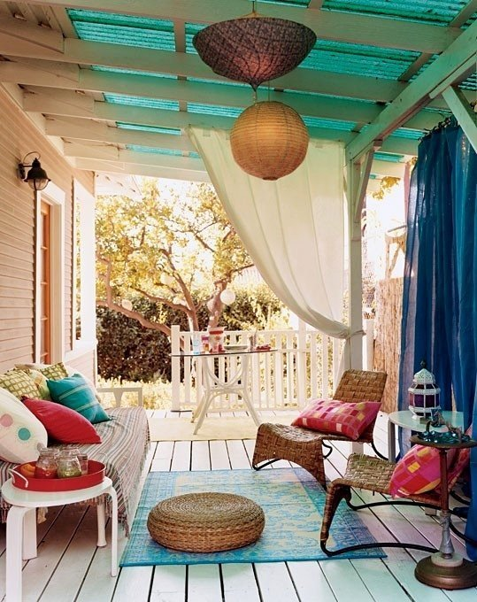 Фотография: Балкон, Терраса в стиле Восточный, Декор интерьера, Дом, Декор дома – фото на InMyRoom.ru