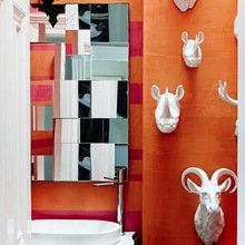 Фотография: Ванная в стиле Классический, Современный, Эклектика, Дом, Дома и квартиры – фото на InMyRoom.ru