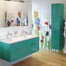 Фото из портфолио Мебель для ванных комнат AESSEL – фотографии дизайна интерьеров на InMyRoom.ru
