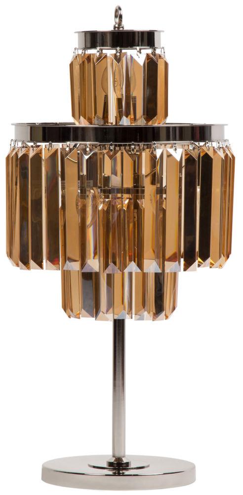 Купить Лампа настольная высокая из металла и стекла, inmyroom