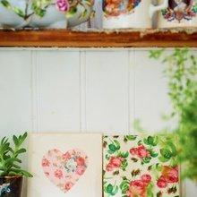 Фотография: Декор в стиле Кантри, Современный, Текстиль, Стиль жизни, Советы, Цветы – фото на InMyRoom.ru