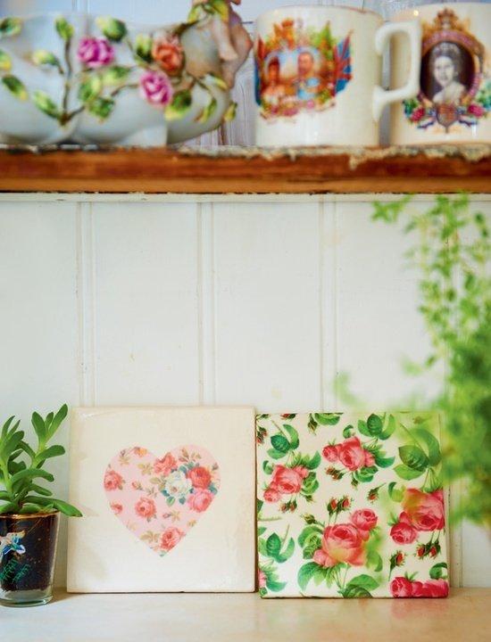 Фотография: Декор в стиле Прованс и Кантри, Современный, Текстиль, Стиль жизни, Советы, Цветы – фото на InMyRoom.ru