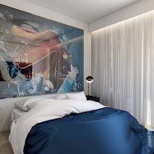 Фото из портфолио Спальня для холостяка. Москва – фотографии дизайна интерьеров на InMyRoom.ru