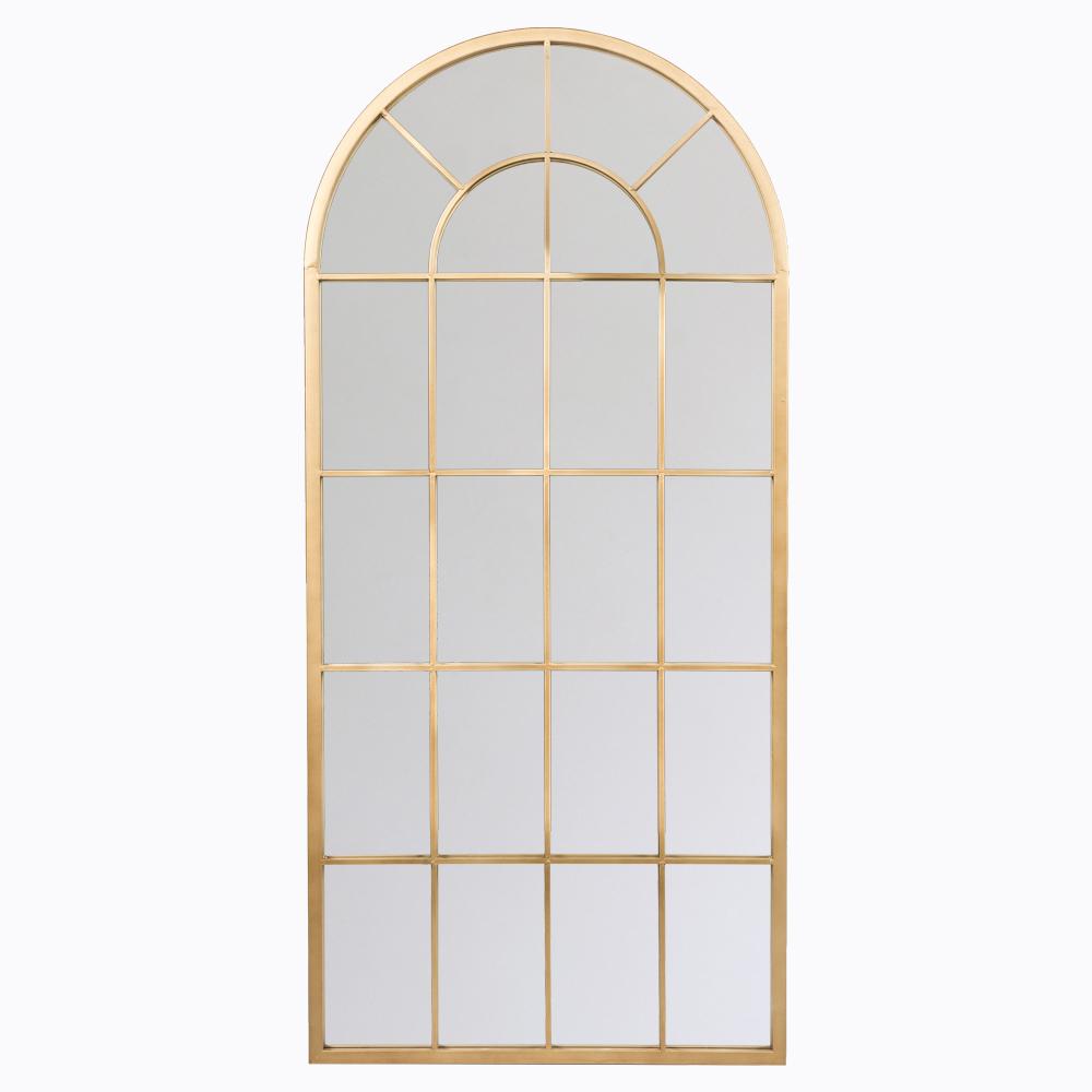 Настенное зеркало «оранжери» (бургундская бронза)