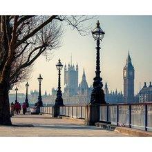 """Картина с фотопечатью """"Прогулка по Лондону"""""""