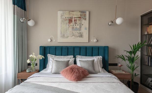Фотография: Спальня в стиле Современный, Квартира, Проект недели, Екатеринбург, 4 и больше, Более 90 метров, KOЛЯDA Design – фото на INMYROOM