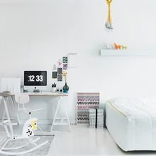 Фотография: Детская в стиле Скандинавский, Кабинет, Интерьер комнат – фото на InMyRoom.ru