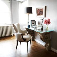 Фотография: Мебель и свет в стиле Кантри, Кабинет, Декор интерьера, Интерьер комнат, Стулья, Лампы, DG Home – фото на InMyRoom.ru