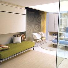 Фотография: Спальня в стиле Минимализм, Декор интерьера, Малогабаритная квартира, Квартира, Дом, Дома и квартиры – фото на InMyRoom.ru
