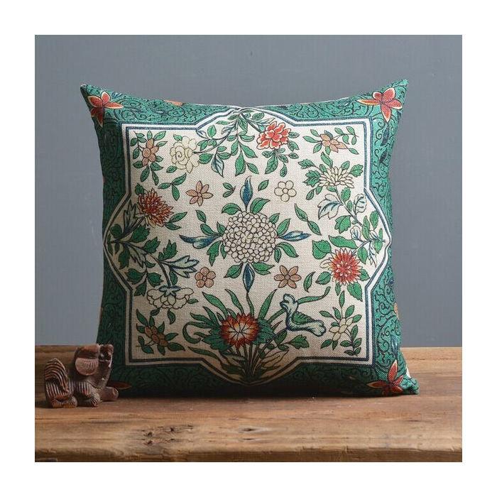 Чехол для подушки Зеленый тон