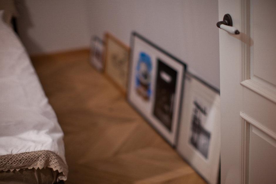 Фотография: Гостиная в стиле Лофт, Скандинавский, Эклектика, Квартира, Проект недели – фото на InMyRoom.ru