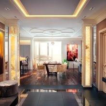 Фото из портфолио Дизайн интерьера объединенной гостиной и кухни – фотографии дизайна интерьеров на INMYROOM