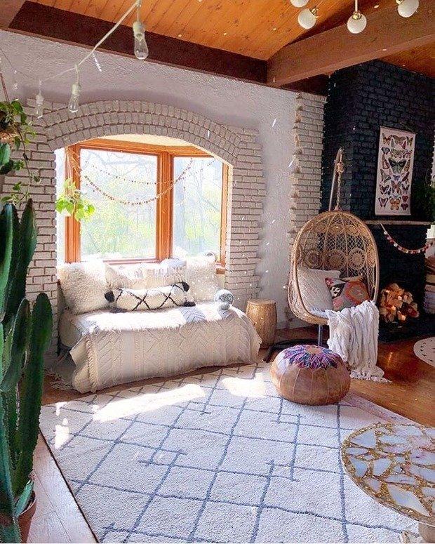 Фотография: Гостиная в стиле Эклектика, Декор интерьера, Дача, Дом и дача – фото на InMyRoom.ru