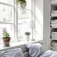 Фотография: Спальня в стиле Скандинавский, Классический, Современный, Прочее, Советы, Белый – фото на InMyRoom.ru