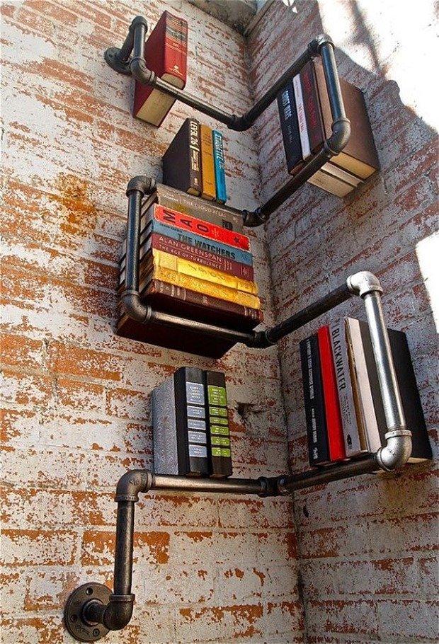 Фотография: Декор в стиле Современный, Системы хранения, Библиотека, Домашняя библиотека – фото на InMyRoom.ru