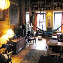 Фотография: Гостиная в стиле Кантри, Декор интерьера, Декор дома, Гамак – фото на InMyRoom.ru