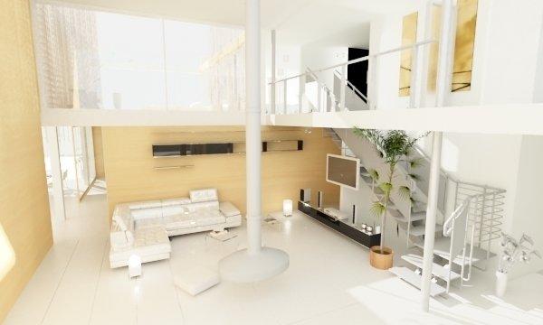 Фотография: Гостиная в стиле Современный, Минимализм, Дом, Дома и квартиры, Архитектурные объекты – фото на InMyRoom.ru