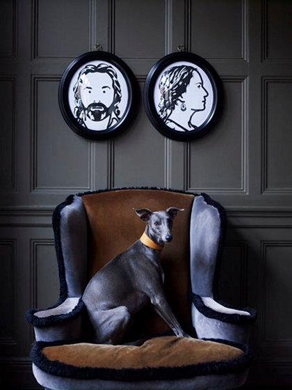 Фотография: Декор в стиле Эклектика, Декор интерьера, Мебель и свет, Декор дома, Кресло – фото на InMyRoom.ru