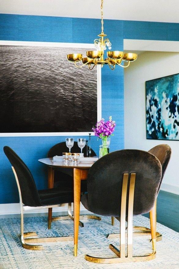 Фотография: Кухня и столовая в стиле Эклектика, Декор интерьера, Мебель и свет, Цвет в интерьере, Советы – фото на InMyRoom.ru