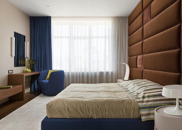 Фотография: Спальня в стиле Современный, Минимализм, Классический, Квартира, Проект недели – фото на InMyRoom.ru