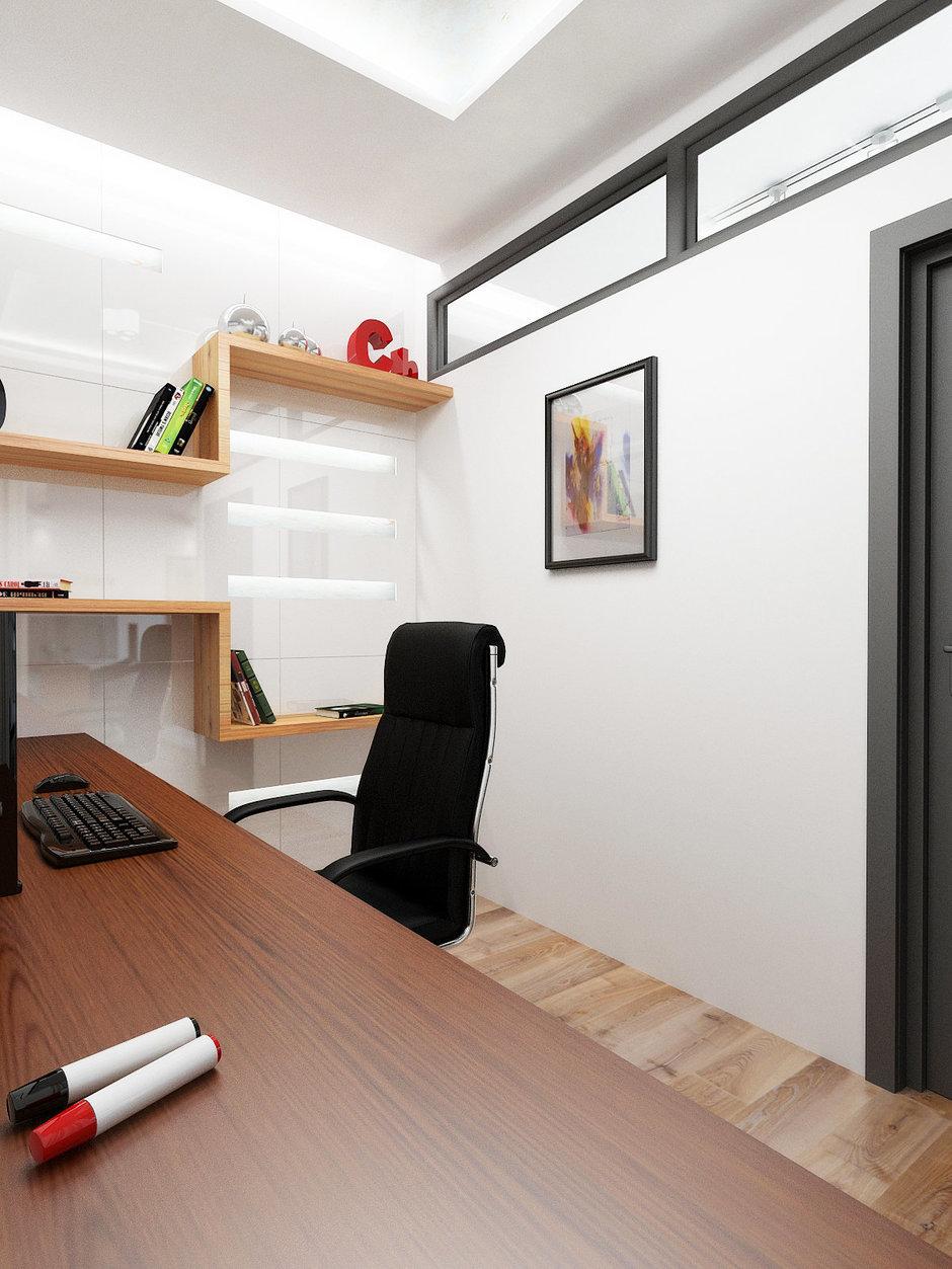 Фотография: Офис в стиле Современный, Декор интерьера, Квартира, Globo, Massive, Дома и квартиры, IKEA, Проект недели, Ideal Lux – фото на InMyRoom.ru
