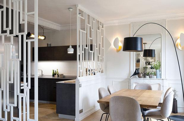 Фотография: Кухня и столовая в стиле Эклектика, Декор интерьера, Квартира, Париж – фото на InMyRoom.ru