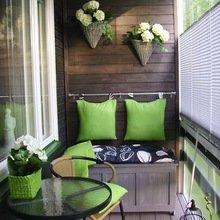 Фотография: Балкон, Терраса в стиле Кантри, Интерьер комнат – фото на InMyRoom.ru