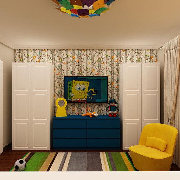 Фото из портфолио Детский этаж в доме – фотографии дизайна интерьеров на INMYROOM