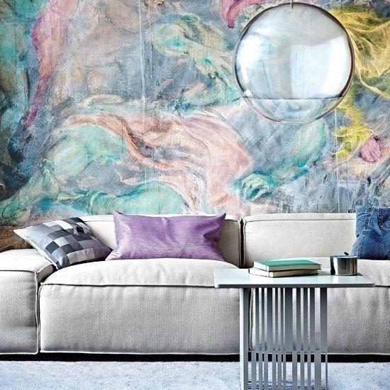 Фотография: Гостиная в стиле Современный, Декор интерьера, Декор дома, Стена – фото на InMyRoom.ru